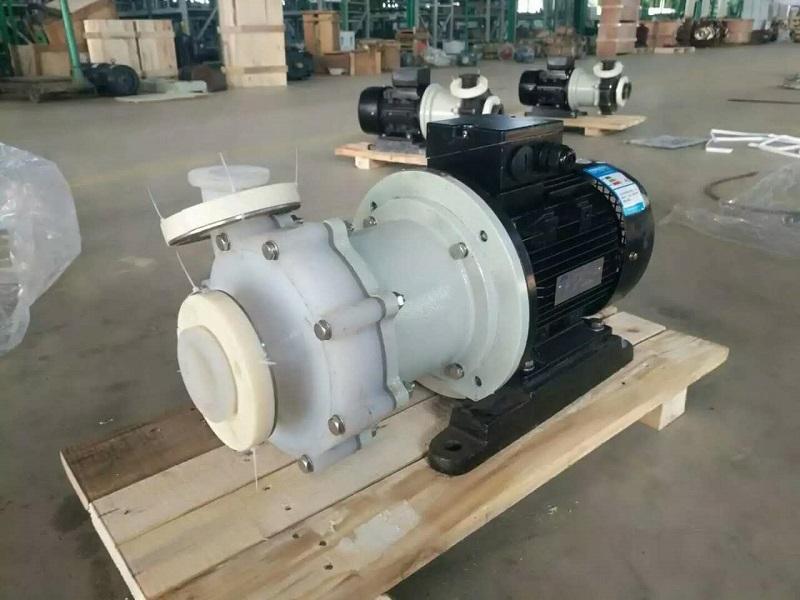 Fluorine Plastic Alloy Anti-Corrosive Magnetic Driven Sealless Pump | BangTrade.com